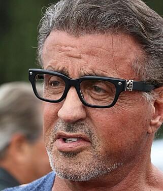 DEN ELDRE: Denne versjonen av Stallone er ikke det filmskaperne ønsker seg når de nå skal gjenskape Rambo. Foto: NTB Scanpix