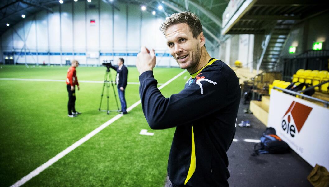 KARANTENE: Frode Kippe må stå over helgens kamp mot Molde. Her etter trening i LSK-hallen. Foto: Bjørn Langsem / Dagbladet