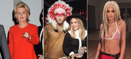 Her er kjendisenes villeste halloween-kostymer