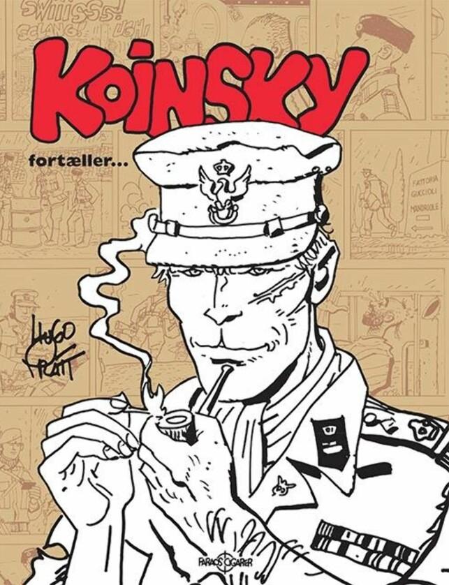 "KOINSKY: Major fra første verdenskrig som er hovedperson i serien ""Ørkenens skorpioner""."