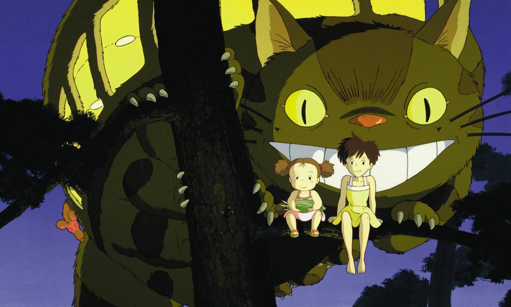 TERNINGKAST FEM: Hayao Miyazakis «Min nabo Totoro» er en film som kan og bør forme norske barns filminteresse, skriver Dagbladets anmelder.