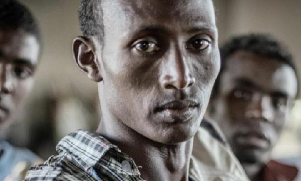 FANGESKAP: Tasfaya Lanago dro fra Etiopia som 18-åring og ble satt i fengsel i Malawi. Her lever han under kummerlige forhold. Foto: Leger uten grenser