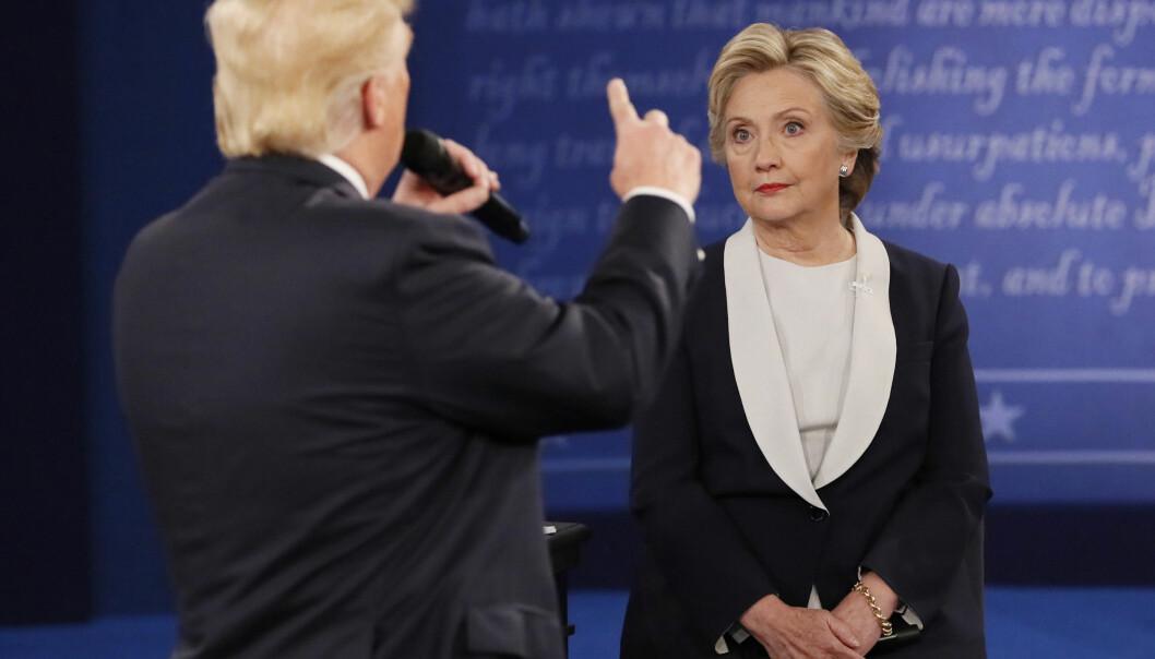<strong>STILLER IKKE:</strong> Hillary Clinton kommer ikke til å utfordre Donald Trump i presidentvalget i 2020. Shannon Stapleton / Reuters / NTB Scanpix