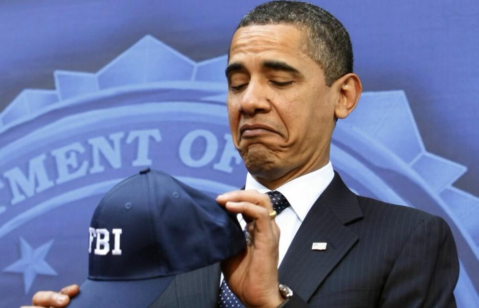 Kritiserer FBI: Barack Obama har rettet skarp kritikk mot FBI etter at de varslet Kongressen om oppdagelsen av nye eposter relatert til Hillary Clintons server-sak. Foto: Kevin Lamarque/Reuters/NTB Scanpix