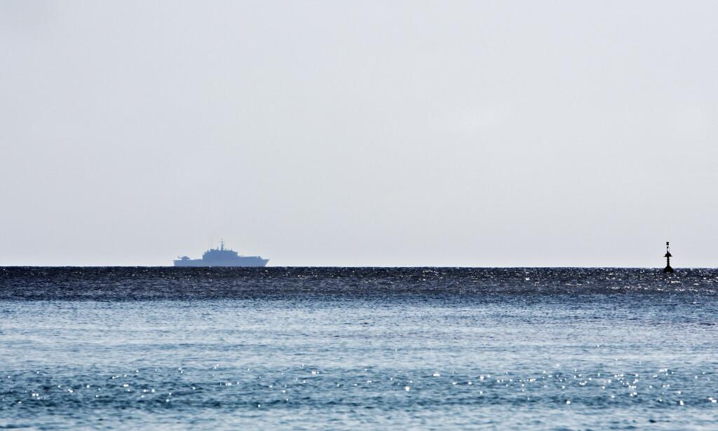 DRO FRA LIBYA: Den gambiske keeperen var i en båt på vei fra Libya til Europa da det gikk galt. Foto: Nina Hansen / Dagbladet