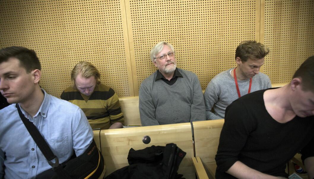 EKSTREMISMEFORSKER: Ekstremismeforsker Lars Gule følger rettssaken, der han også skal stille som sakkyndig vitne. Foto: Tomm W. Christiansen / Dagbladet