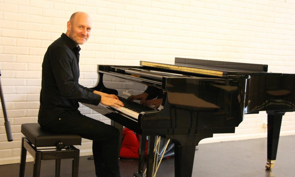 LAGET KONSERT: Kantor Erlend Fagertun skrev Erik Bye-oratorium, men familien sa nei til framføring. Foto: Jon Andreas Hasle