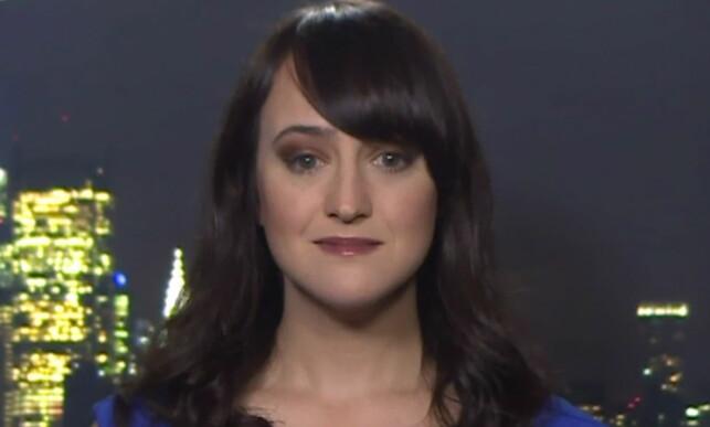 BLITT VOKSEN: Onsdag gjestet Mara Wilson TV-programmet «Lorraine». Hun snakket blant annet om filmsuksessen «Matilda» - som ble utgitt i 1996. Foto: wenn.com