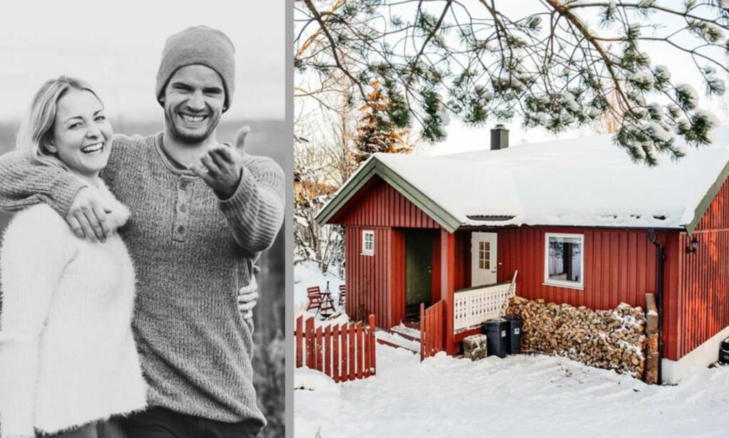<b>ÅPNER HJEMMET: </b>«Vi vil også sørge for et godt utstyrt kjøleskap med ymse julemat etc. før vi overlater huset», skriver Eirik Lundblad og Marianne Sleire i annonsen. Huset ligger i Lommedalen i Bærum. Foto: Privat
