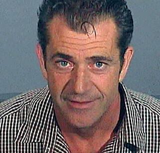 ARRESTASJONSFOTO: Mel Gibson ble i 2006 pågrepet for promillekjøring. Foto: NTB Scanpix