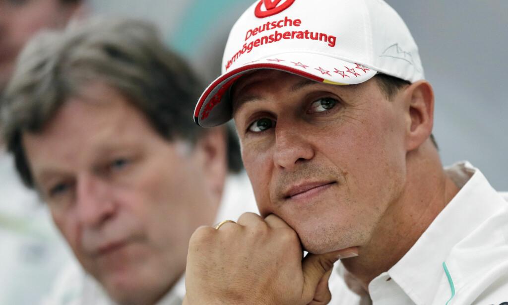 FRAMGANG: Ifølge venn og tidligere kollega Ross Brawn er det positive tegn rundt Michael Schumachers helsetilstand. Foto: AP Photo/Shizuo Kambayashi