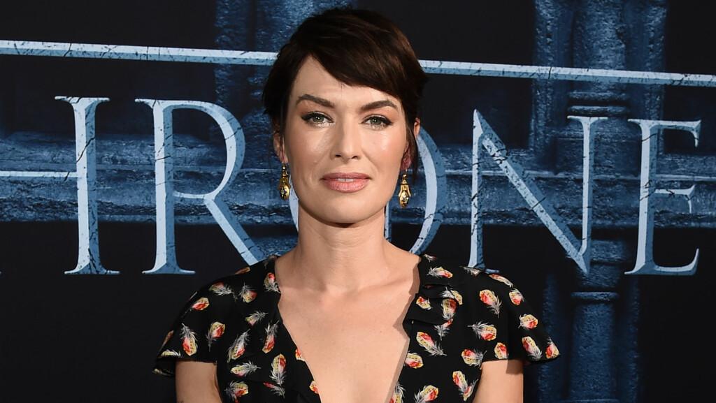 BRØT AVTALEN: Lena Headey er for tiden i England for å spille inn ny sesong av HBO-serien «Game of Thrones», og har med seg sin seks år gamle sønn. Det har ikke vært populært hos barnefaren.  Foto: Rex Features