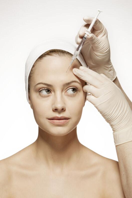 <strong>UFARLIG:</strong> Nevrolog Monica Drottning-Rønne sier at bruk av Botox ikke er farlig hvis behandlingen utføres riktig. Foto: Illustrasjonsbilde/ NTB Scanpix