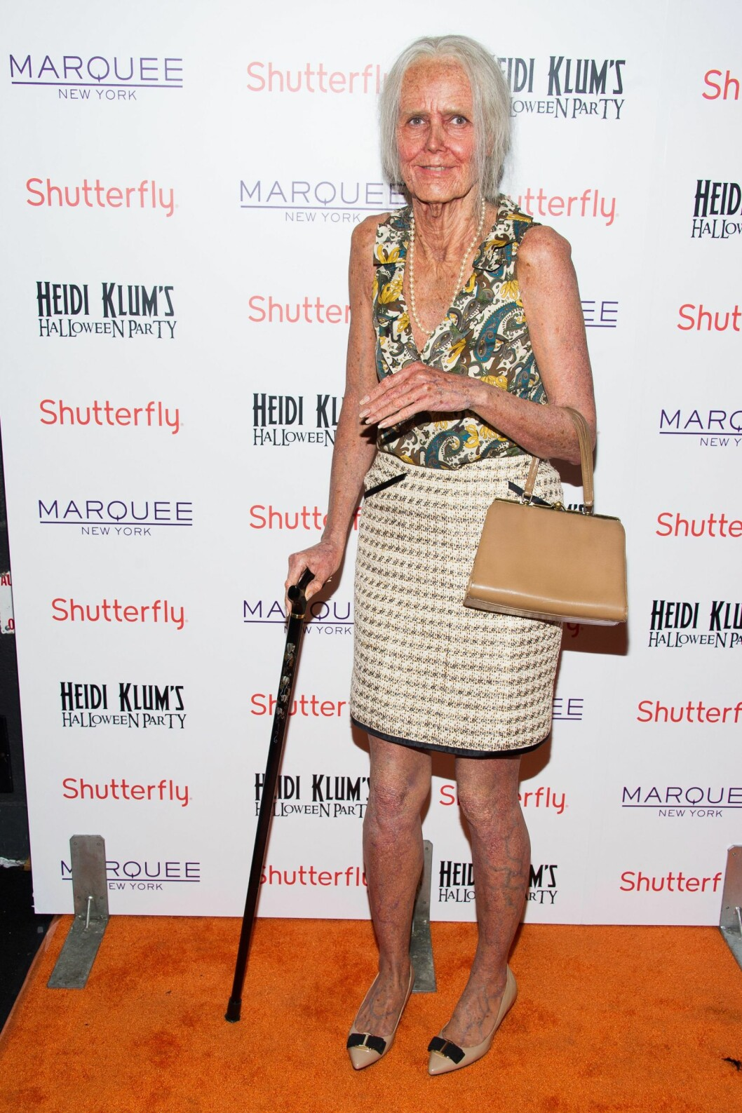 GAMMEL KLUM: I 2013 ble Heidi Klum omgjort til en gammel dame.  Foto: INVISION