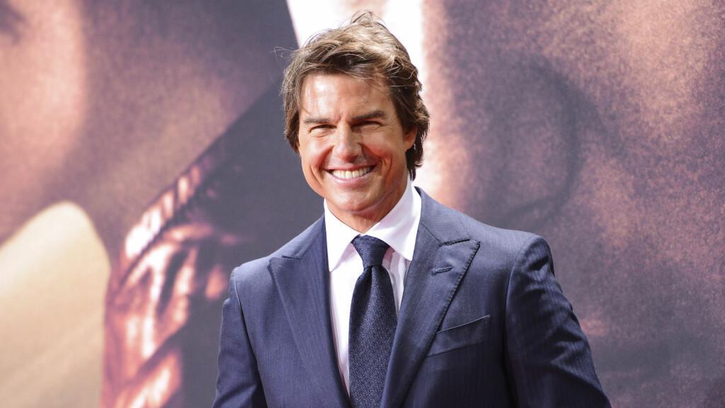 DATER: Tom Cruise er ifølge kildene utrolig forelsket i sin nyeste eurobring. Foto: SipaUSA