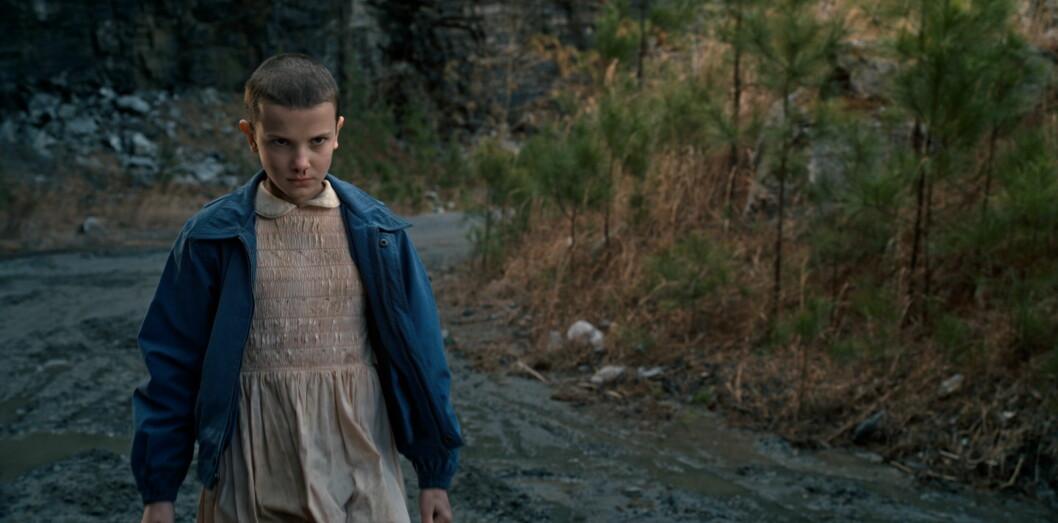 <strong>POPULÆR KARAKTER:</strong> Browns karakter i serien, Eleven, er en av seriens mest populære. Foto: wenn.com