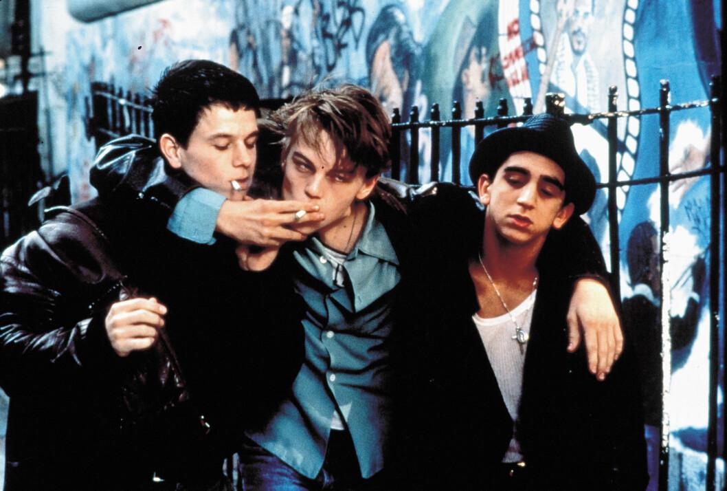 I 1995: Leonardo DiCaprio (midten) som Jim Carroll i «The Basketball Diaries». Foto: NEW LINE CINEMA / Album