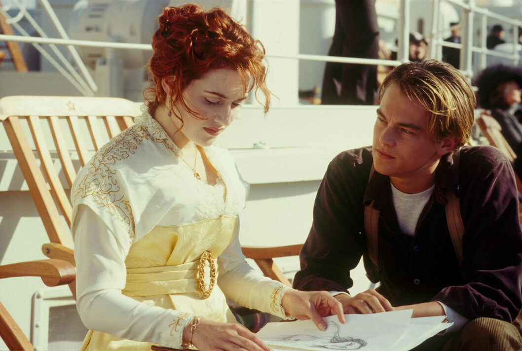 I 1997: Kate Winslet og Leonardo DiCaprio rørte mange i James Camerons storfilm «Titanic», som hanket inn hele 11 Oscar-priser.   Foto: PARAMOUNT/20TH CENTURY FOX / Album