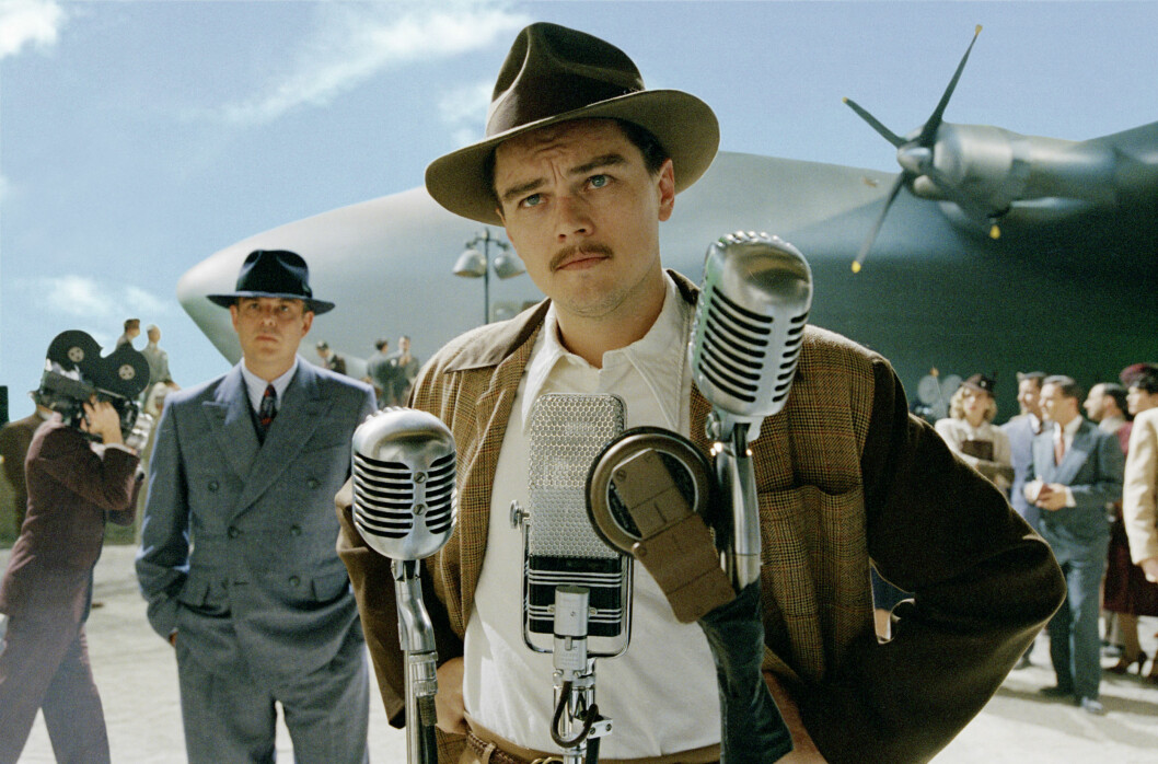 I 2004: Leonardo DiCaprio fikk sin andre Oscar-nominasjon for sitt portrett av Howard Hughes i »The Aviator». Foto: MIRAMAX FILMS / NTB Scanpix
