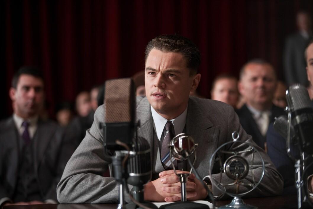 I 2011: Leonardo DiCaprio portretterte FBI-legenden J. Edgar Hoover i Clint Eastwood-filmen «J. Edgar». Foto: MALPASO PRODUCTIONS / NTB Scanpix