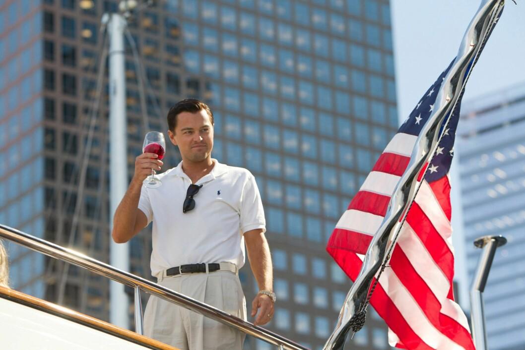 I 2013: Leonardo DiCaprio fikk sin fjerde Oscar-nominasjon for rollen som den korrupte aksjemegleren Jordan Belfort i «The Wolf of Wall Street».  Foto: RED GRANITE PICTURES / Album