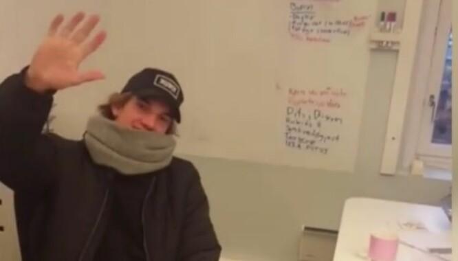 Her kødder Morten Ramm med «Skam»-William