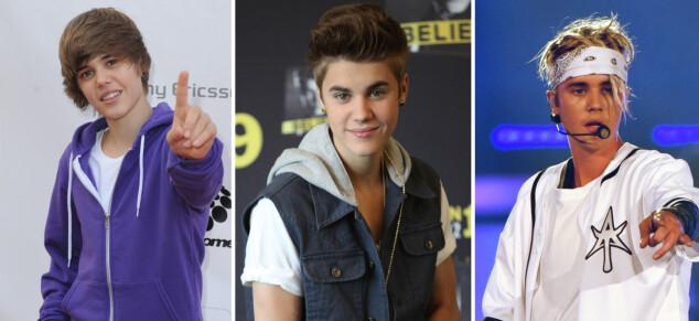 Se Biebers utrolige stilforandring