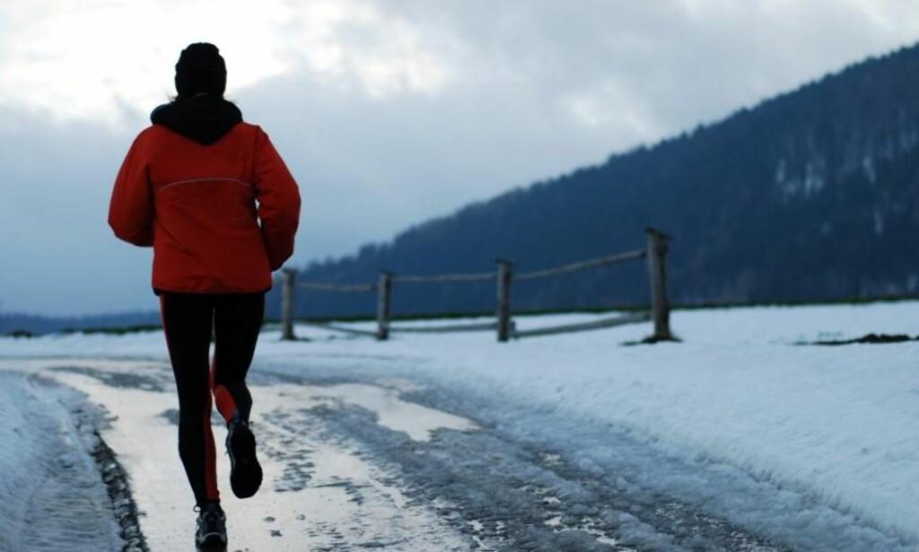 KONKRETE MÅL: Det er lettere å angripe vinteren med ett eller flere konkrete mål for øyet. Foto: NTB Scanpix