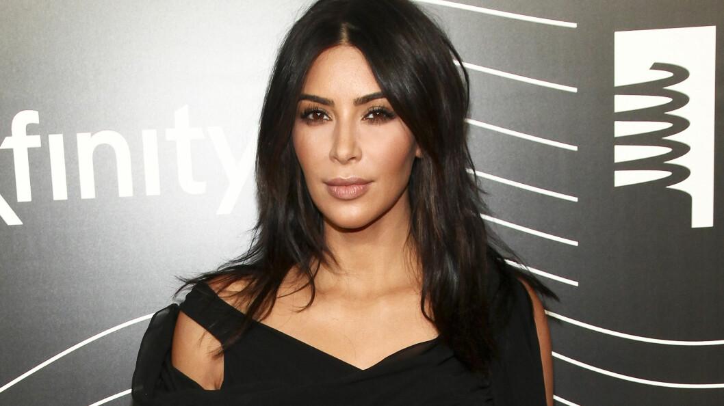 BLE RANET: Kim Kardashian West ble ranet i Paris i starten av oktober. Nå har det dukket opp en overvåkningsvideo fra åstedet. Foto: Ap