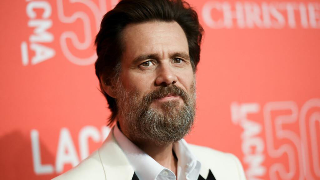 SLÅR TILBAKE: Jim Carrey slo tirsdag tilbake mot en rekke påstander familien til hans avdøde kjæreste har kommet med om han. I oppgjøret hevder han at han aldri ga henne rusmidler eller kjønnssykdommer, slik familien påstår. Foto: NTB Scanpix