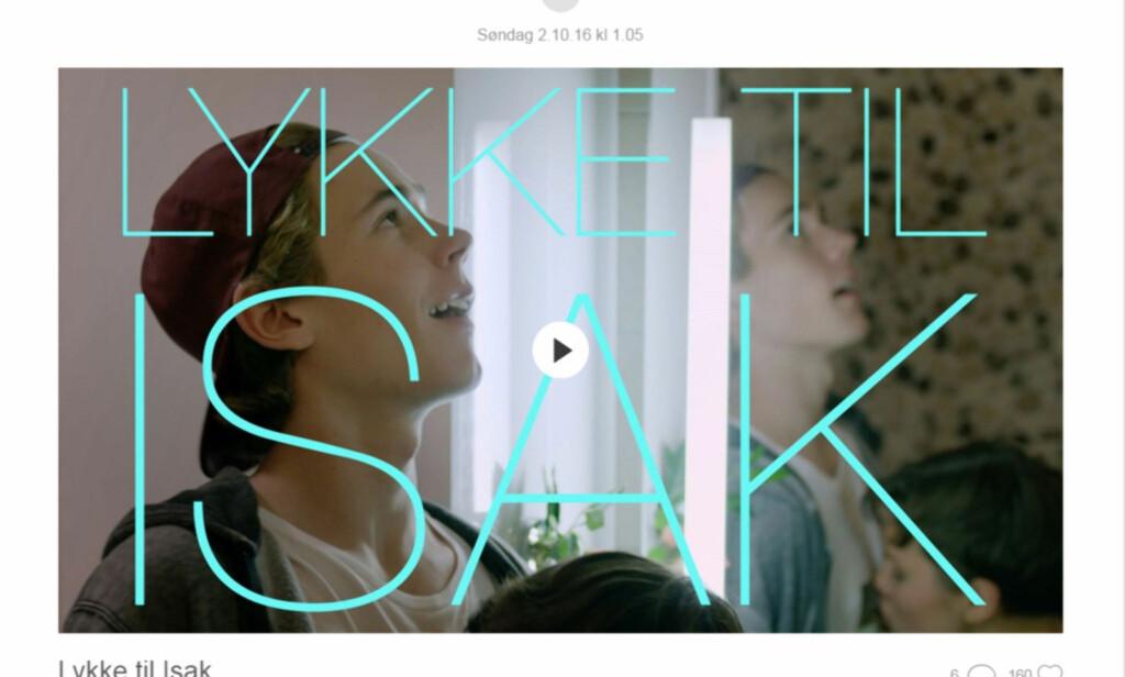 OVERRASKET FANSEN: NRK slapp natt til søndag det første klippet fra den nye sesongen av «Skam». Foto: NRK