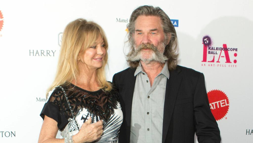 VIL IKKE GIFTE SEG: Goldie Hawn vil ikke gifte seg med kjæresten Kurt Russel. Det fører bare til skilsmisse forteller hun.  Foto: Zuma Press