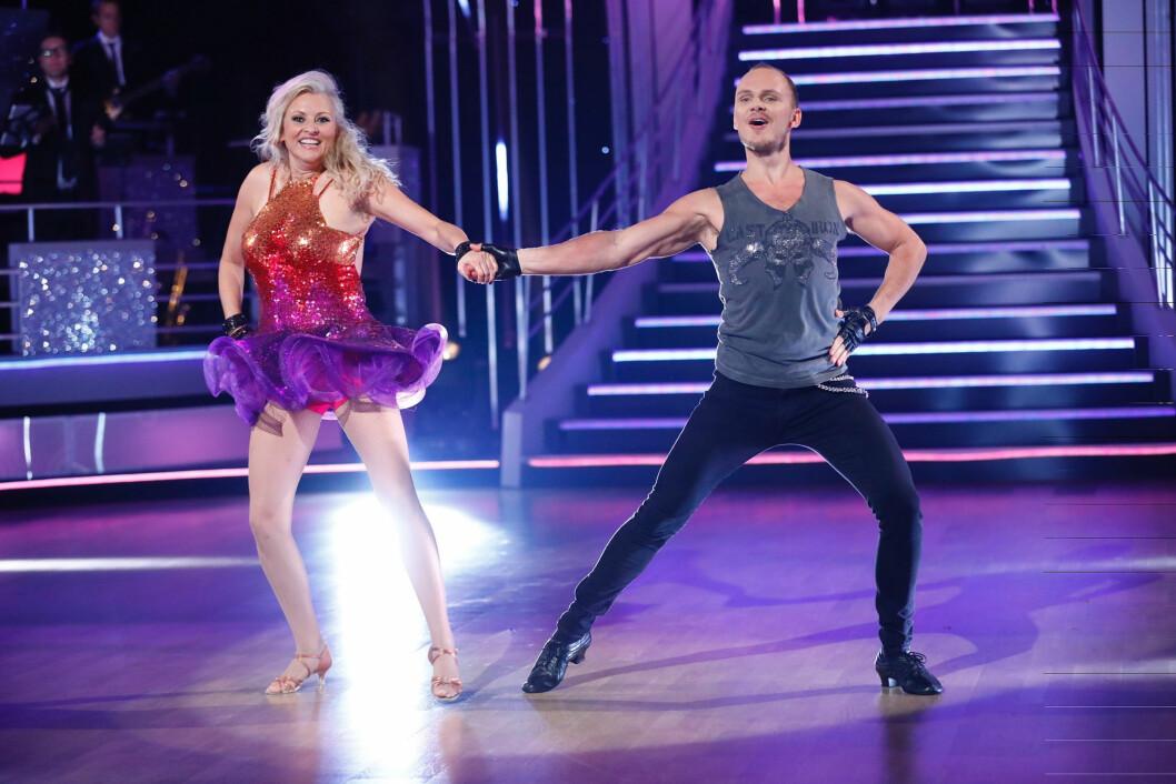 <strong>UTE:</strong> Eli Kari Gjengedal ble den tredje kjendisen til å forlate programmet.  Foto: Espen Solli/TV 2
