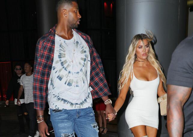 I FORSVAR: Khloe Kardashian tar til motmæle etter at fans av Cleveland Cavaliers-stjerna Tristan Thomson beskylder henne for å bringe laget ulykke. Foto: NTB Scanpix