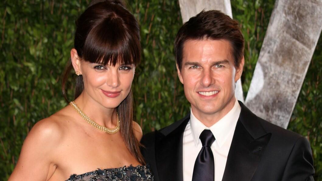 <strong>BITTERT BRUDD:</strong> Katie Holmes og Tom Cruise var gift fra 2006 til 2012, og fortsatt skal «Mission Impossible»-stjernen ha full kontroll over eksen.  Foto: wenn.com