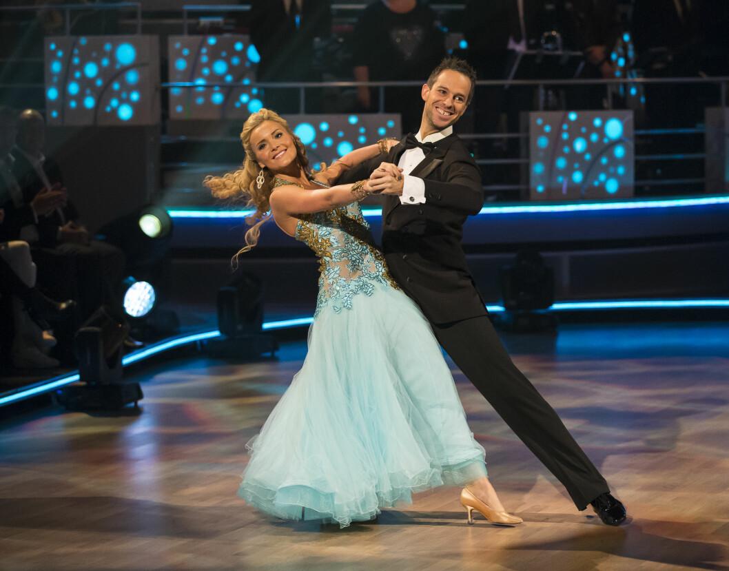 PÅ TV-PARKETTEN: I 2014 var Caroline med i TV 2- konkurransen «Skal vi danse». Foto: Tor Lindseth