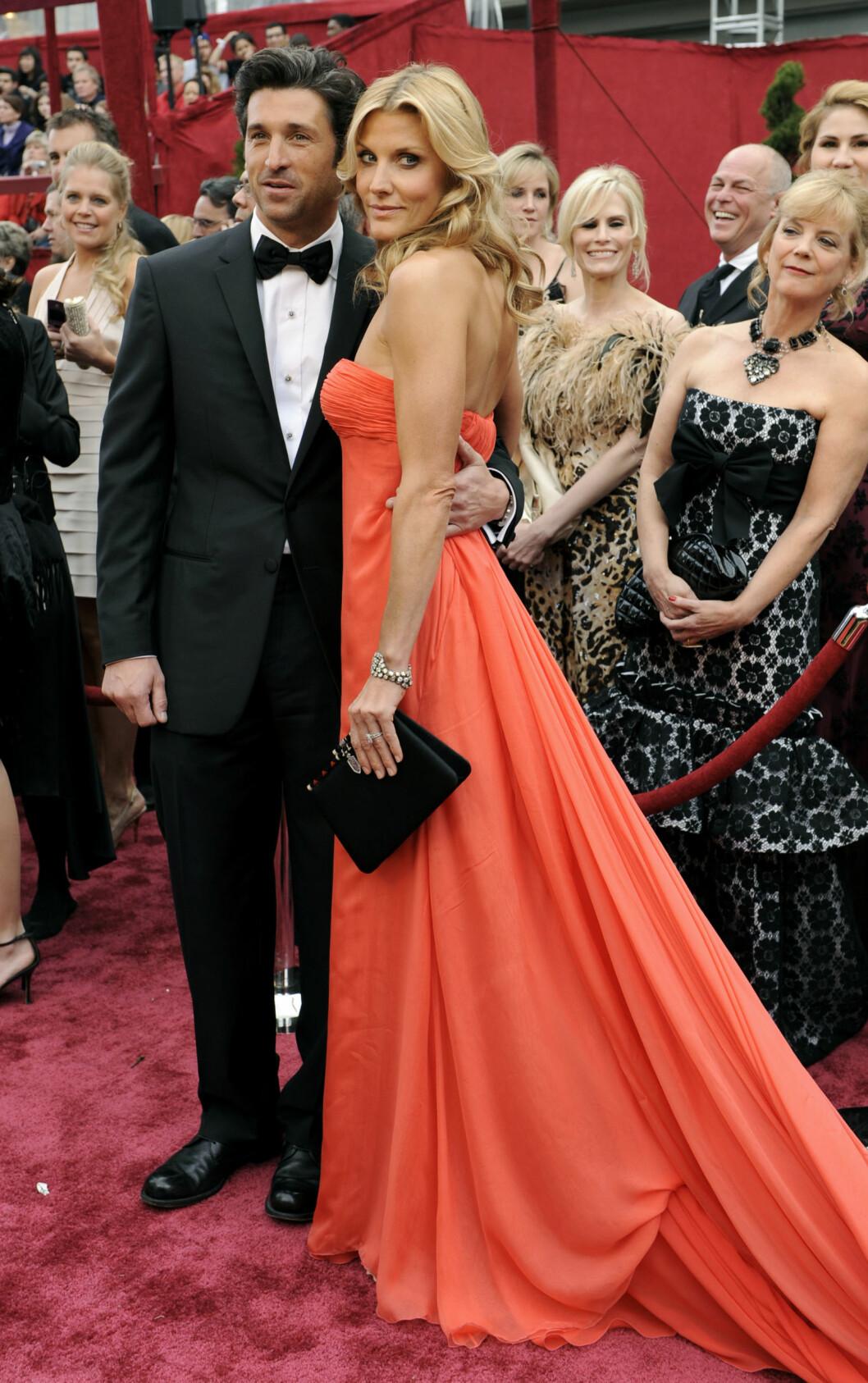 FANT TILBAKE TIL HVERANDRE: Her er paret under Oscar utdelingen i Los Angeles for åtte år siden.  Foto: NTB Scanpix