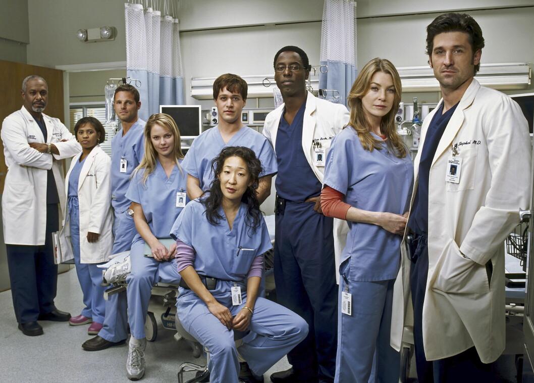 TV-STJERNE: Patrick Dempsey ble verdensberømt gjennom sin rolle i TV-serien «Grey's Anatomy». Foto: TOUCHSTONE TELEVISION / Album
