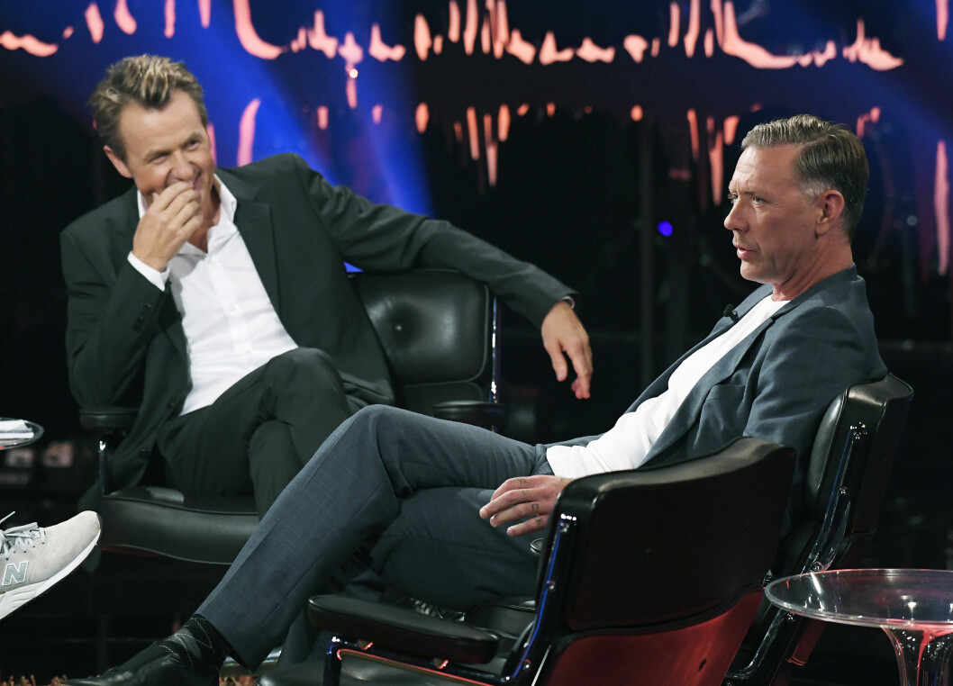 FORTELLER OM KOKAIN-MISBRUKET: Mikael Persbrandt åpner seg i «Skavlan» om tiden han misbrukte kokain.  Foto: Aftonbladet