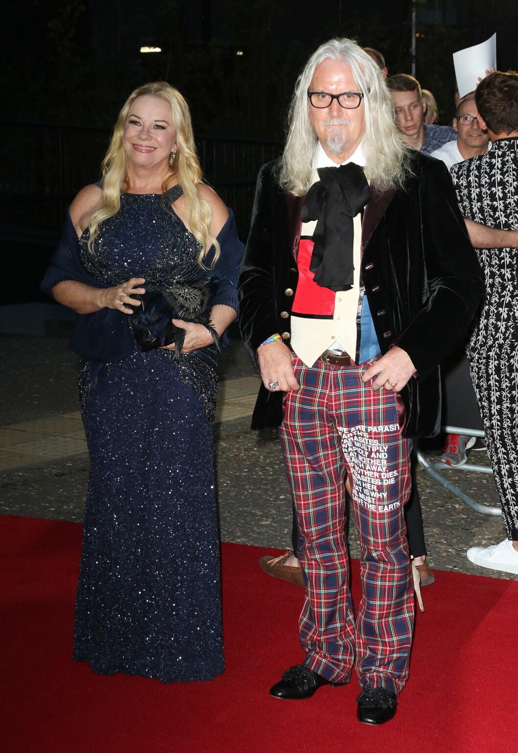 PRISVINNER: Den skotske komikeren Billy Connolly ble hedret med prisen for å være Årets inspirasjon.  Foto: Zuma Press