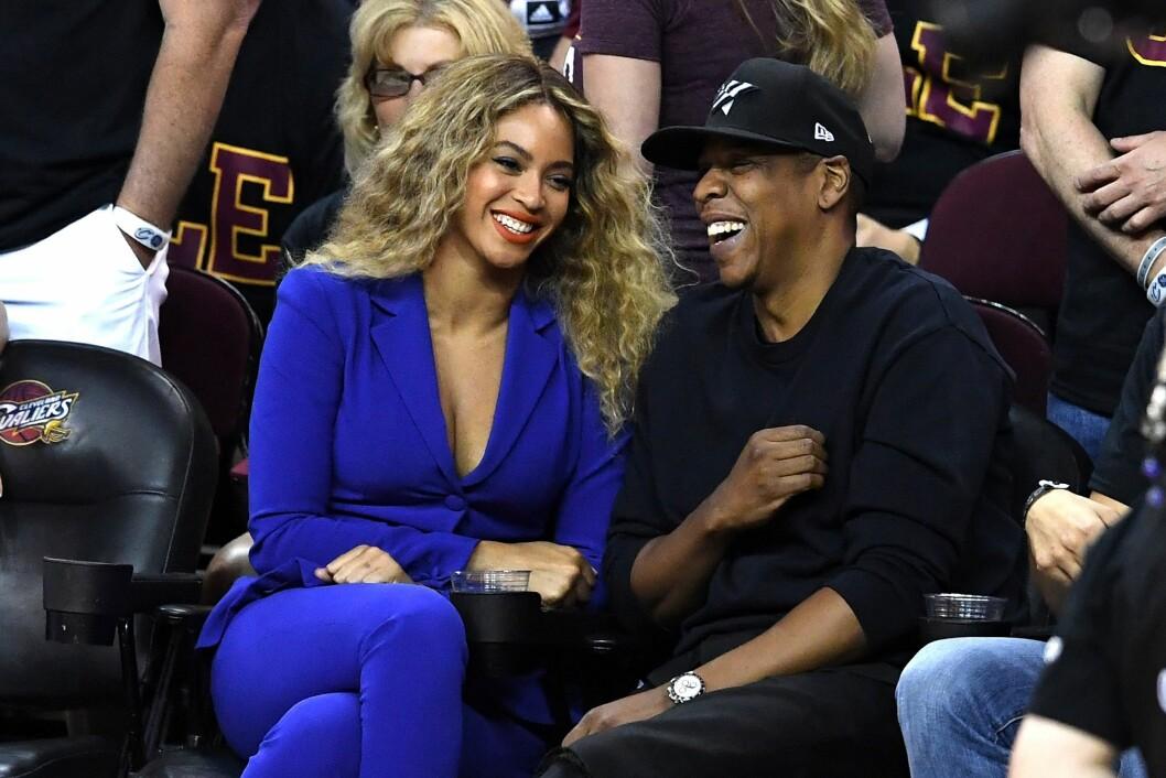 SUPERPAR: Beyonce og Jay Z er blitt utsatt for utroskapsrykter flere ganger, men ekteparet anses uansett som et av musikkbransjens aller mektigste par. Foto: Afp