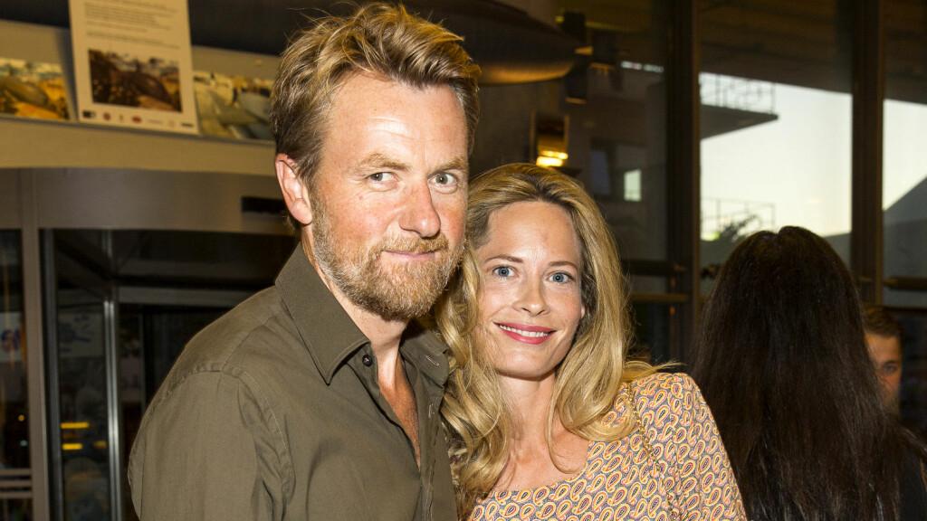 PROFILERT PAR: Fredrik Skavlan og Maria Bonnevie har vært sammen i ti år og har to barn sammen.  Foto: Tor Lindseth