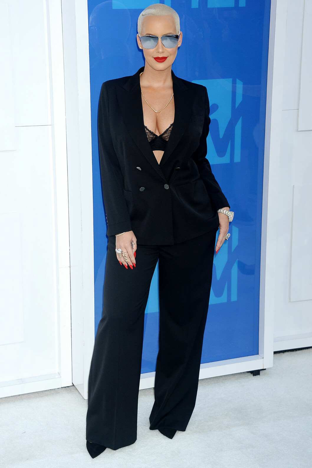 Pictured: Amber Rose Mandatory Credit © Gilbert Flores /Broadimage 2016 MTV Video Music Awards  8/28/16, New York, New York, United States of America Reference: 082816_GFLA_BDG_M_025  Broadimage Newswire Los Angeles 1+  (310) 301-1027 New York      1+  (646) 827-9134 sales@broadimage.com http://www.broadimage.com    Foto: Broadimage