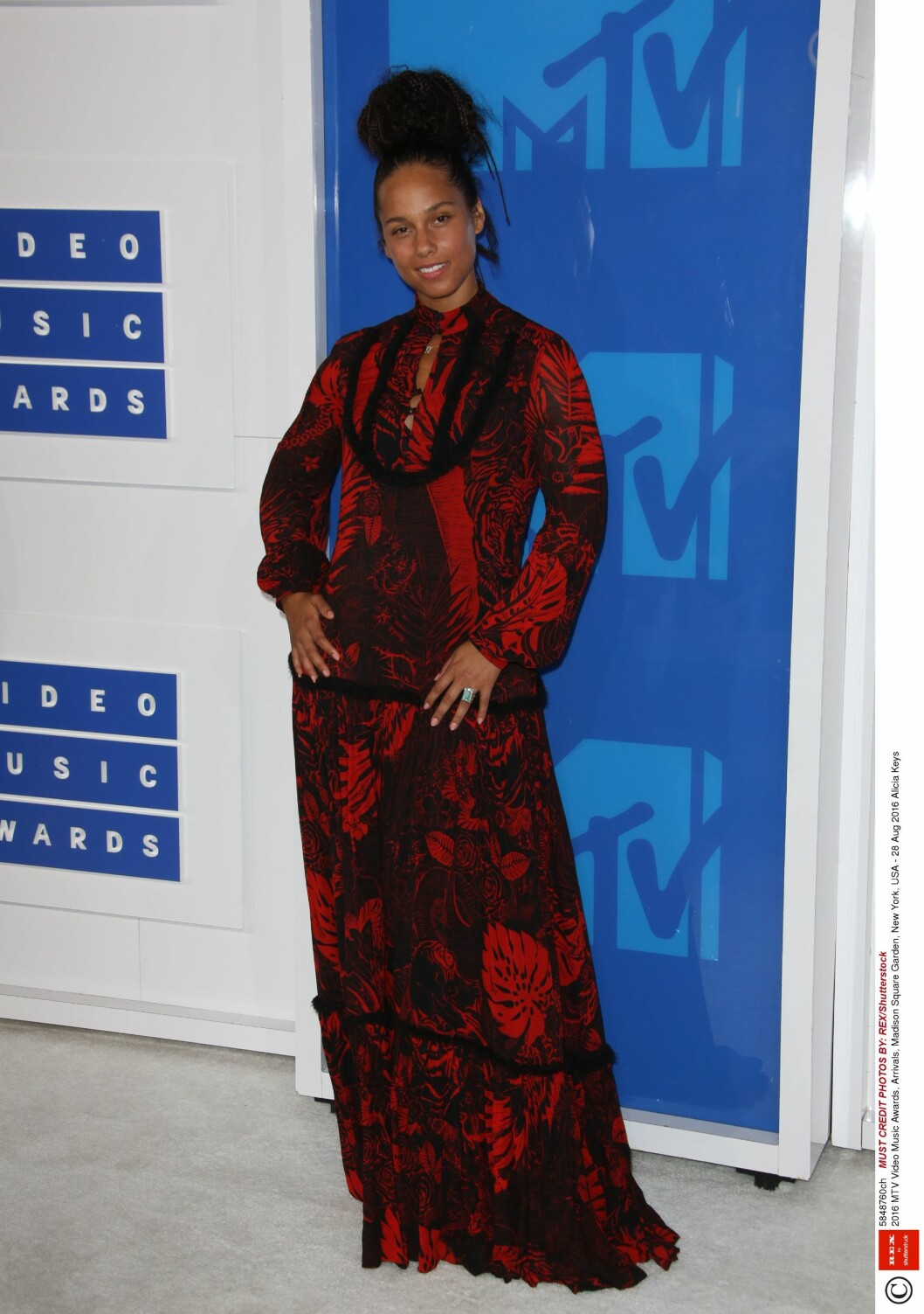 Artist Alicia Keys. Foto: Rex Features