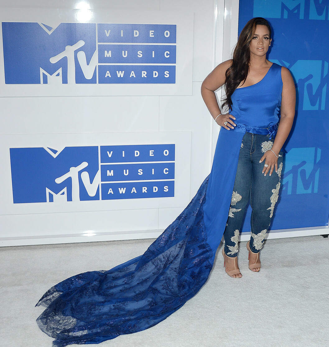"TV-stjernen Dascha Polanco fra ""Orange is the New Black"". Foto: Broadimage"