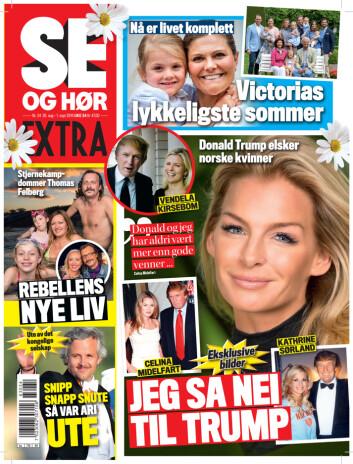I SALG NÅ: I nyeste nummer av Se og Hør kan du lese mer om Mia Gundersen. Foto: Se og Hør