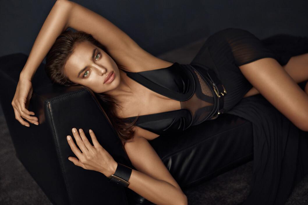 <strong>VERDENSBERØMT:</strong> Irina Shayk er en ettertraktet undertøys- og motemodell. Her er hun i en kampanje for klesmerket Network sin 2015 høst- og vinterkolleksjon. Foto: Splash News