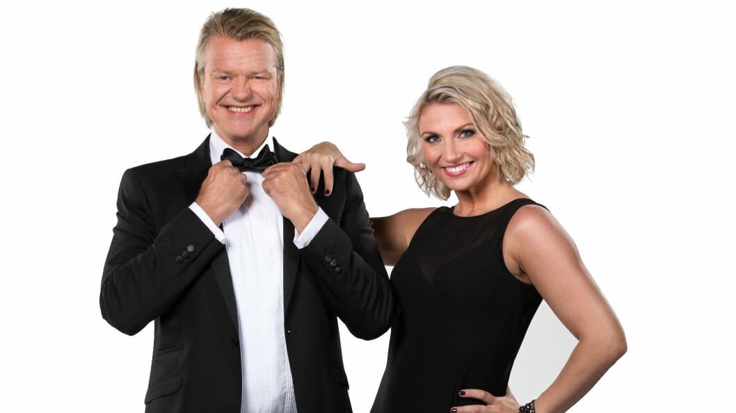 PARTNERE: Alex Rosén skal danse med Alexandra Kakurina (33). Foto: Espen Solli / TV2