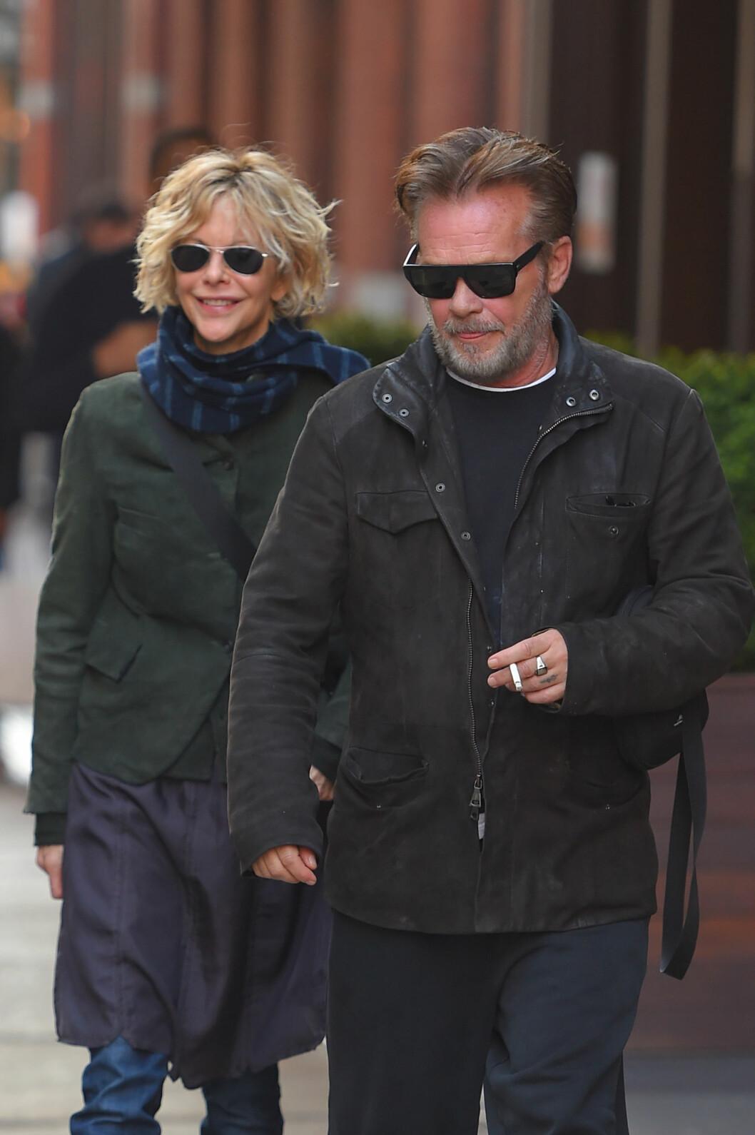 EKSEN: John Mellencamp og Meg Ryan var kjærester i drøye tre år. Foto: NTB Scanpix