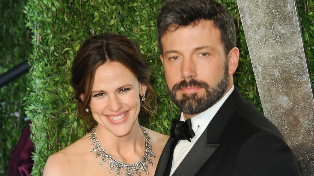 SLUTT: Det er nå 13 måneder siden Jennifer Garner og Ben Affleck avslørte at de hadde gått hver til sitt. Foto: SipaUSA